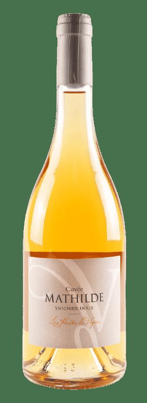 Viognier vendanges tardives de l'Ardèche - Cuvée Mathilde