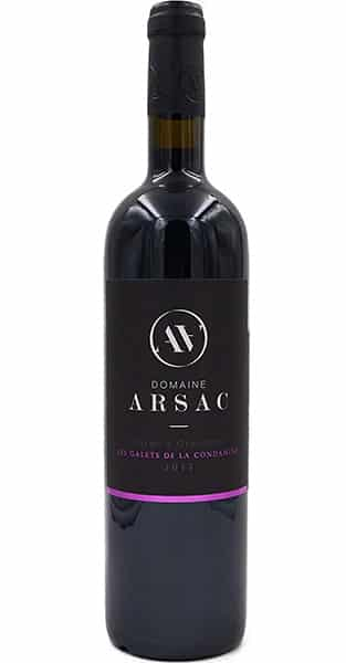 Vin rouge bio IGP Ardèche - Domaine Arsac