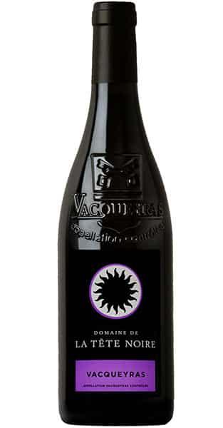 Vin rouge Vacqueyras bio - Domaine de la tête noire