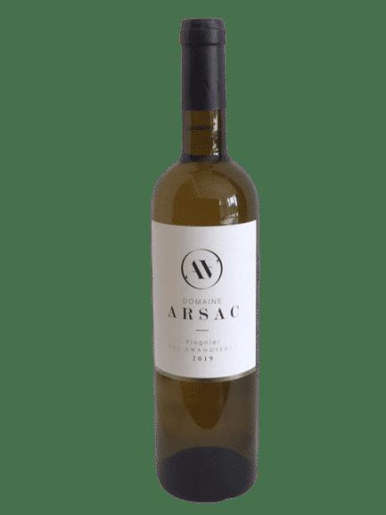 Vin blanc bio viognier Ardèche