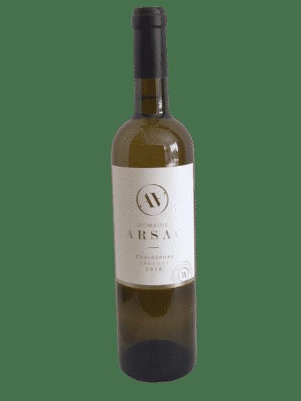 Vin blanc bio chardonnay Ardèche