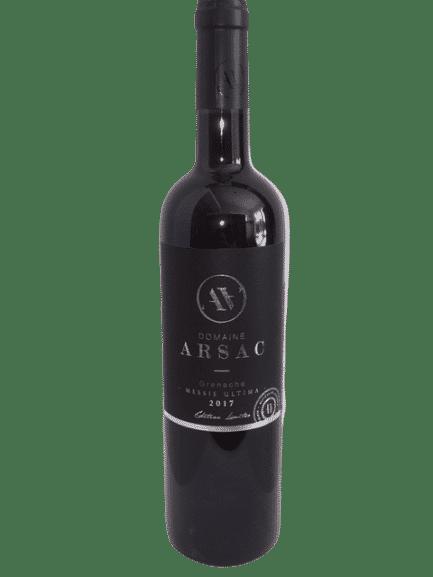 Vin rouge bio Domaine Arsac Sud Ardèche