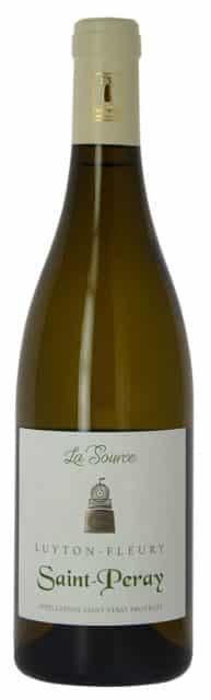 La Source - Vin blanc AOC Saint-Péray Ardèche - Domaine Luyton-Fleury